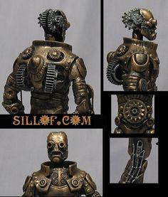 SILLOF's WORKSHOP: STEAM WARS #steampunk #starwars custom figures