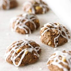 WOW! My mom has made these for the past 50+ years.  Italian Chocolate-Spice Cookies drizzled with powdered sugar icing. Get the recipe here: http://www.bhg.com/recipe/cookies/italian-chocolate-spice-cookies/?socsrc=bhgpin042312chocolatespicecookies