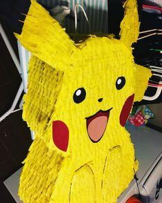 Pikachu Pinata Pokemon  more at instagram @flowerviletcrafts
