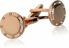 Port Hole Rose Gold Cufflinks Cuff-Daddy. $29.99. Arrives in hard-sided, presentation box suitable for gifting.. Made by Cuff-Daddy. Save 57% Off!