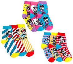 little missmatched Disney Vintage Mickey & Minnie Crew Socks Mickey Shoes, Vintage Mickey, Parent Gifts, Disney Magic, Xmas Gifts, Crew Socks, Qvc, Favorite Things, Parents