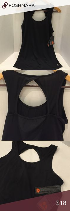 RBX active wear tank top NWT RBX activewear tank top in black. Size medium. RBX Tops Tank Tops