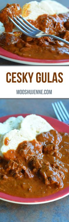 Traditional Czech goulash made with paprika, onions, and beef. Cesky Gulas also know as Czech Goulash is basically a simple Hungarian goulash. It is one of the many goulash recipes Czech people have. I am hoping to get a chance to share many different goulash recipes with you as we proceed into the Fall and Winter.