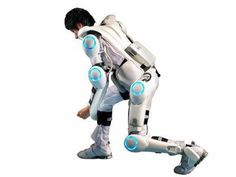 HAL lower limb available now only in facilities for therapy applications in Japan, incredible progress Powered Exoskeleton, Robot Arm, Science Fiction Books, Sci Fi Books, Wearable Device, Entertainment System, Tech News, Science And Technology, Inventions