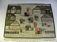 Polish tapestry rug