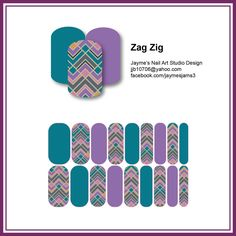 """""""Zag Zig"""" - inspired by Pantone's Fall Fashion report"""