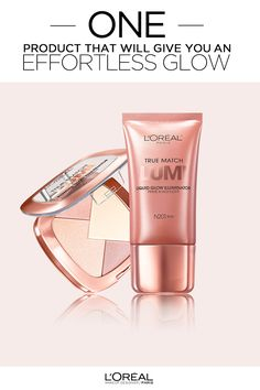 L'Oreal True Match Lumi Glow Illuminator to highlight, define and enhance the face. Three glowing shades to flatter every skin tone from warm to neutral to cool. To use, mix all shades of the Lumi Glow Illuminator or highlight key areas by brushing the Illuminator over pre-existing foundation.