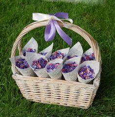The Confetti Blog: Purple Wedding Themes - Ideas, Flowers and Confetti Petals
