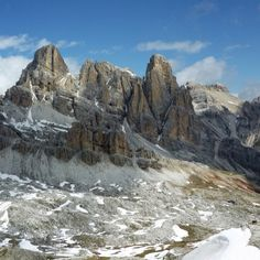 The wild peaks of the Dolomites #InSouthTyrol...heading back there this weekend