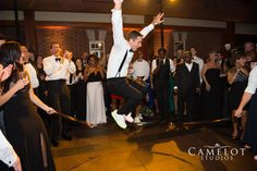 The Loeb Boathouse Central Park Groom dancing