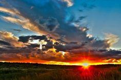 The beautiful African skies:)