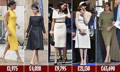Meghan spends huge £155,000 on 15 new outfits since the Royal Wedding