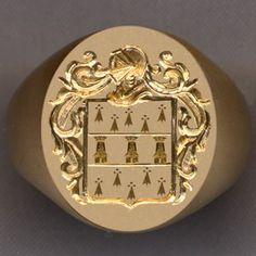 ring with old family crest