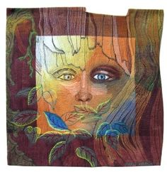 "Hollis Chatelain's quilt, ""Fading."" Stunning!aaqiupdate.wordpress.com"