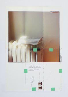 grupaok:  Moyra Davey Trust Me (detail) 2011
