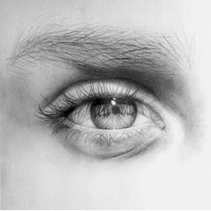 Lovely eye by . Go check it! - - Tag or use - - Also check out: and for more! Realistic Pencil Drawings, Art Drawings Sketches Simple, Pencil Art Drawings, Realistic Sketch, Eye Drawings, Art Tutorials, Eye Drawing Tutorials, Drawing Tips, Photographie Portrait Inspiration