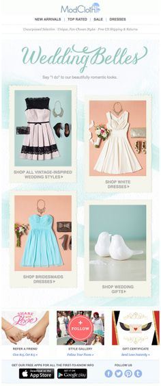 ModCloth : Category + Outfit Shops