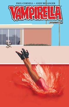 Vampirella #6 (Subscription Cover, Jimmy Broxton).