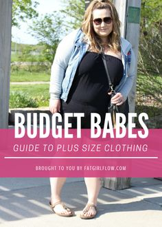 Find cheap plus size clothing from this list of stores. Join me every week for more fashionable plus size clothing stores!