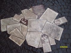 """Monument for Hans and Sophie Scholl -  """"Weisse Rose"""", University of Munich"""
