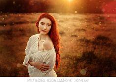 Golden Summer Photo Overlays - Kimla Designs