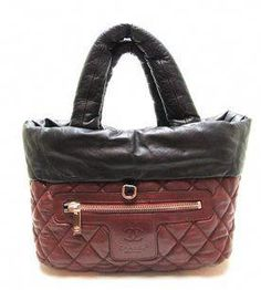 3c6c2da3afb1a9 Chanel Coco Cocoon Lambskin Quilted Tote in Black, Burgundy Red  #WomensShoulderbags Chanel Chanel,