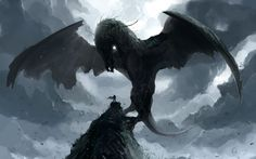 Man vs Dragon