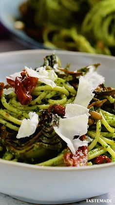 Pasta Recipes, Dinner Recipes, Cooking Recipes, Meat Recipes, Pesto, Vegetarian Recipes, Healthy Recipes, Vegetarian Diets, Gula