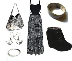 """""""Maxi Dress Love"""" by purplesmoothiee on Polyvore"""