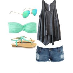 One wish: summe time - Polyvore