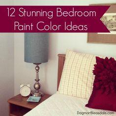 Dagmar's Home: 12 bedroom paint color ideas.