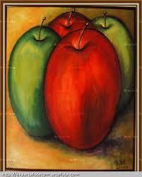 pinturas de manzanas abstractas - Buscar con Google