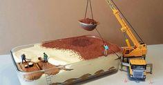 Chef de pastelaria italiano cria mundos em miniatura com sobremesas
