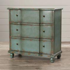 One Allium Way Nuri 3 Drawer Dresser