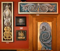 Robin, Art Work, Dads, Gallery Wall, Frame, Google, Home Decor, Artwork, Picture Frame