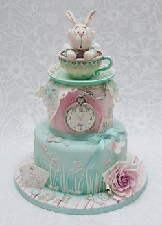 Alice and wonderland cake by Emma Jayne Cake Design