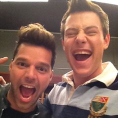First Look: Glee Welcomes Ricky Martin!