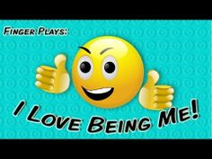 ▶ I Love Being Me! | finger play song for children - YouTube