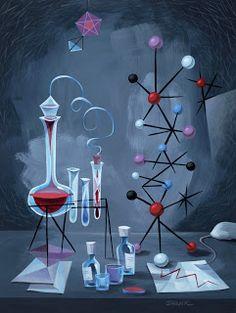Laboratory stills