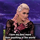♡ On Pinterest @ kitkatlovekesha ♡ ♡ Pin: Celebrities ~ (GIF) Kesha on Conan in 2012 ♡
