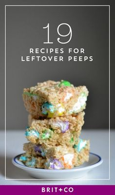 Bookmark this to figure out what you should do with your leftover Peeps.