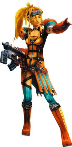 Rikku (alchemist) from Final Fantasy X-2