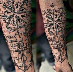 40 Cool Hipster Tattoo Ideas You'll Want to Steal – tatoo Map Tattoos, Forearm Tattoos, Body Art Tattoos, Tatoos, Maori Tattoo Arm, Memory Tattoos, Tattoo Arrow, Leg Tattoo Men, Neck Tattoos