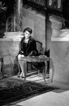 Delphine Seyrig in Last Year at Marienbad (1961)
