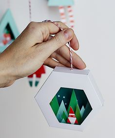 DIY Christmas Decorations With Printable Items - Smallful