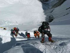 Mera peak climbing is one of the spectacular adventure climbing experiences in Nepal. Incredible Mera Peak climbing stands high at an elevation of Monte Everest, Mount Everest Base Camp, Everest Base Camp Trek, Ice Climbing, Mountain Climbing, Nepal, Climbing Everest, Mountaineering, Climbers