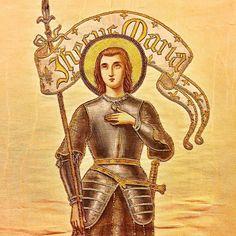 Sainte Jeanne d'Arc priez pour nous.