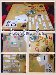 Counting activities ready for next week
