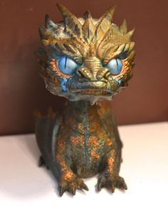 Funko Pop Vinyl Custom Patina  smaug dragon the hobbit
