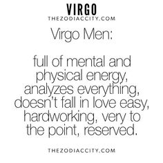 Truth about dating a virgo 3